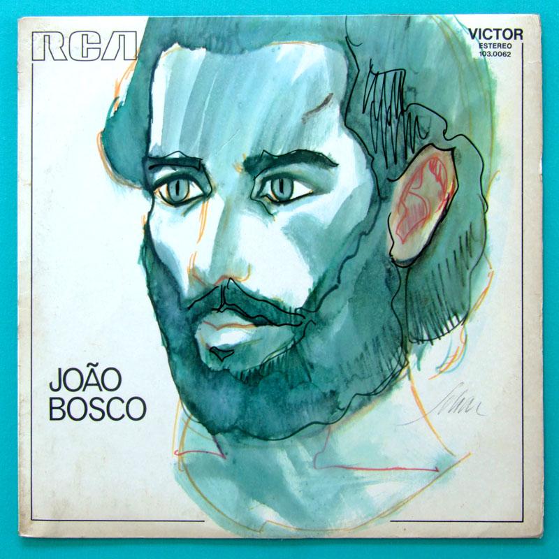 LP JOAO BOSCO 1973 DEBUT LUIZ ECA DUPRAT TAMBA TRIO SOUL BRAZIL