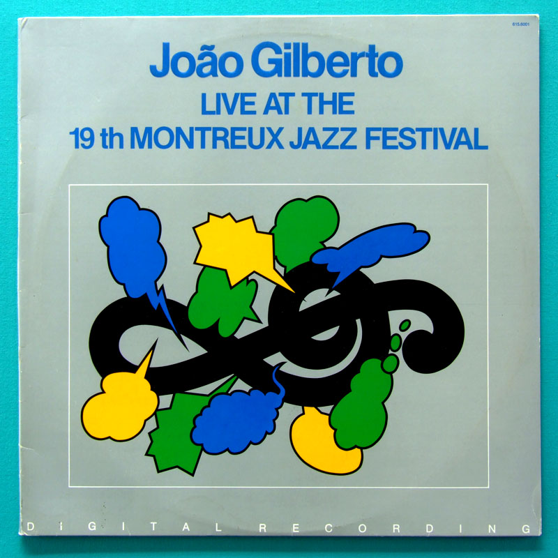 LP JOAO GILBERTO LIVE AT THE 19TH MONTREUX JAZZ FESTIVAL 1986 BOSSA BRAZIL