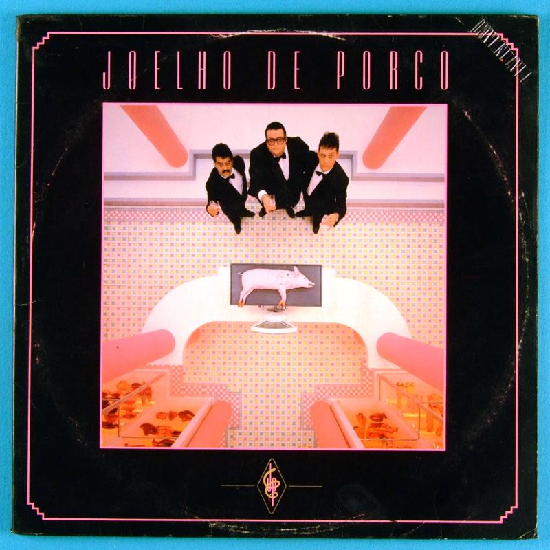 LP JOELHO DE PORCO SAQUEANDO A CIDADE 1983 PSYCH ROCK BRAZIL