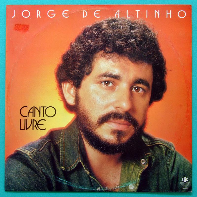 LP JORGE DE ALTINHO CANTO LIVRE 1983 REGIONAL FOLK BRAZIL