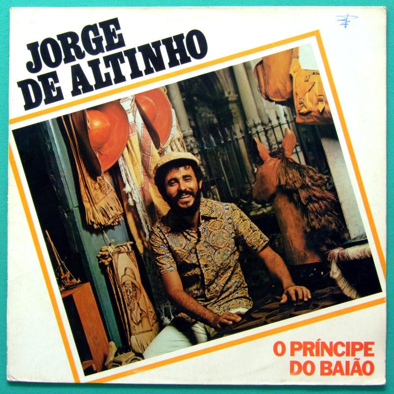 LP JORGE DE ALTINHO 1988 O PRINCIPE DO BAIAO REGIONAL BRAZIL