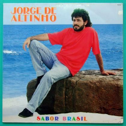 LP JORGE DE ALTINHO SABOR DO BRASIL 1990 REGIONAL BRAZIL