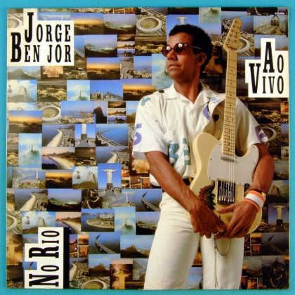 LP JORGE BENJOR AO VIVO NO RIO FUNK SAMBA SOUL JAZZ BRAZIL