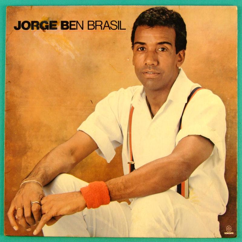 LP JORGE BEN BENJOR BRASIL 1986 FUNK SAMBA SOUL JAZZ BRASIL