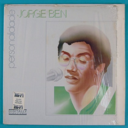 LP JORGE BEN BENJOR PERSONALIDADE FUNK SOUL JAZZ BRAZIL