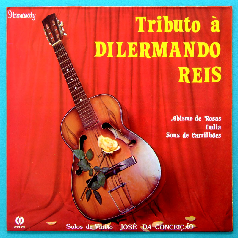LP JOSE DA CONCEICAO TRIBUTO A DILERMANDO REIS NYLON GUITAR INSTRUMENTAL 1982 BRAZIL