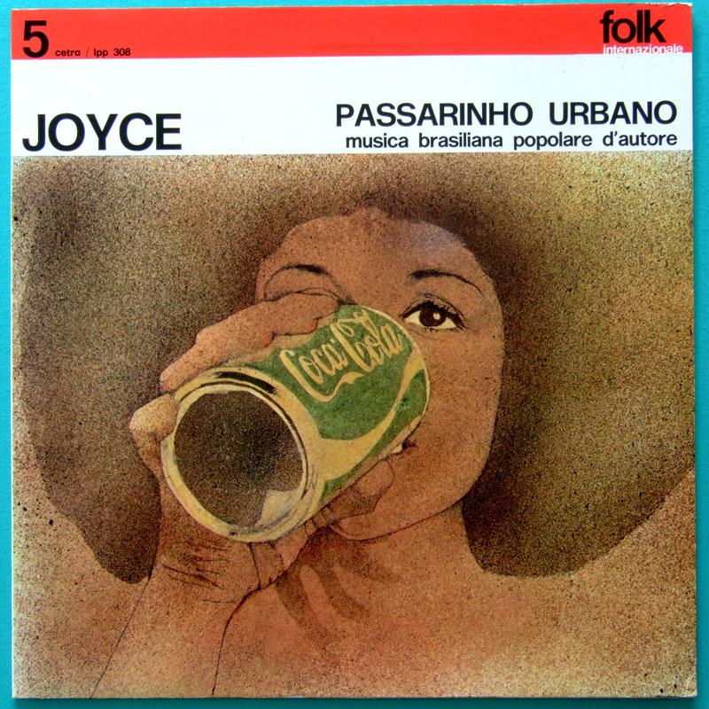 LP JOYCE PASSARINHO URBANO SAMBA FOLK BOSSA JAZZ BRAZIL ORIGINAL GATEFOLD ITALY