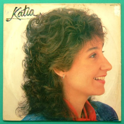 LP KATIA 1987 POP SINGER MELLOW BEAT FOLK BOSSA BRAZIL