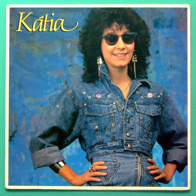 LP KATIA 1989 POP SINGER MELLOW BEAT FOLK BOSSA BRAZIL