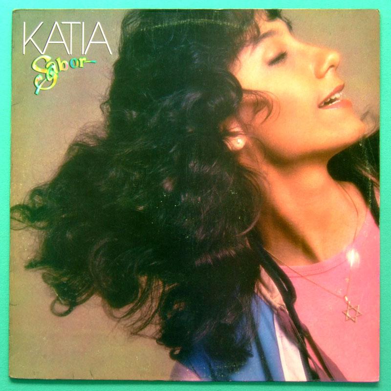 LP KATIA SABOR 1982 POP SINGER MELLOW BEAT FOLK BOSSA BRAZIL