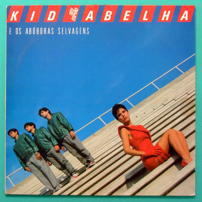 LP KID ABELHA E OS ABOBORAS SELVAGENS SEU ESPIAO POP ROCK FOLK BRAZIL