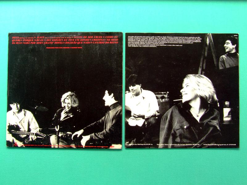 LP KID ABELHA GRANDES SUCESSOS ACUSTICOS 1994 ROCK BRASIL