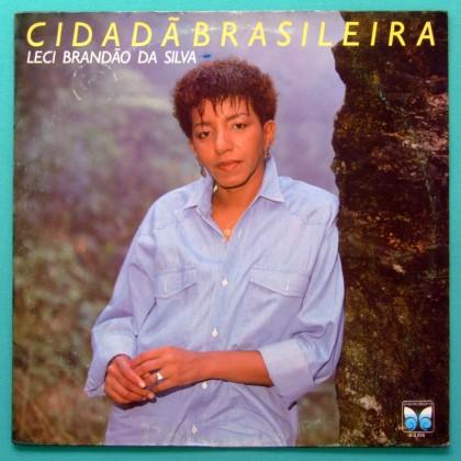 LP LECI BRANDAO CIDADA BRASILEIRA 1990 SAMBA GROOVE BRAZIL
