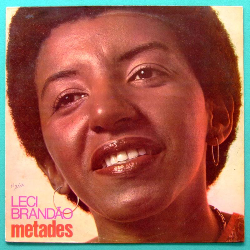 LP LECI BRANDAO METADES 1991 BOSSA CHORO SAMBA GROOVE BRAZIL