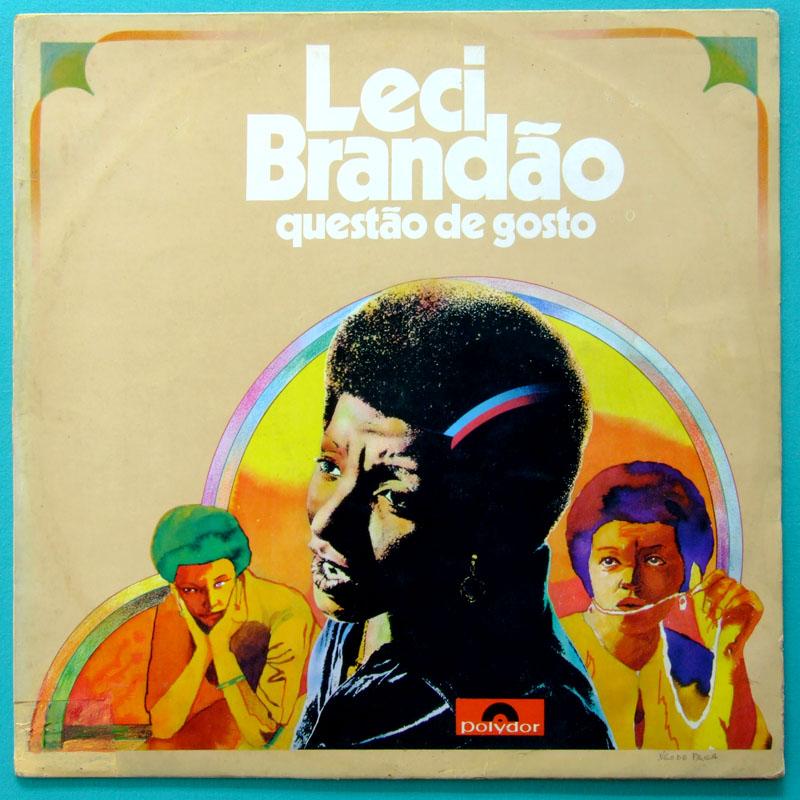 LP LECI BRANDAO QUESTAO DE GOSTO 1976 SAMBA MELLOW BRAZIL