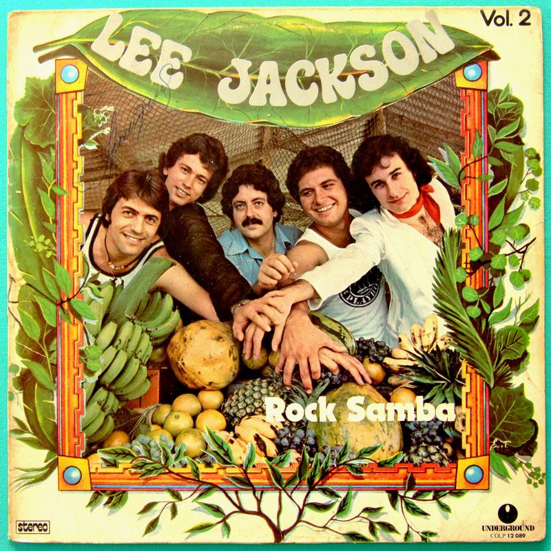 LP LEE JACKSON ROCK SAMBA VOL II 1977 GROOVE FUNK DJ BRAZIL