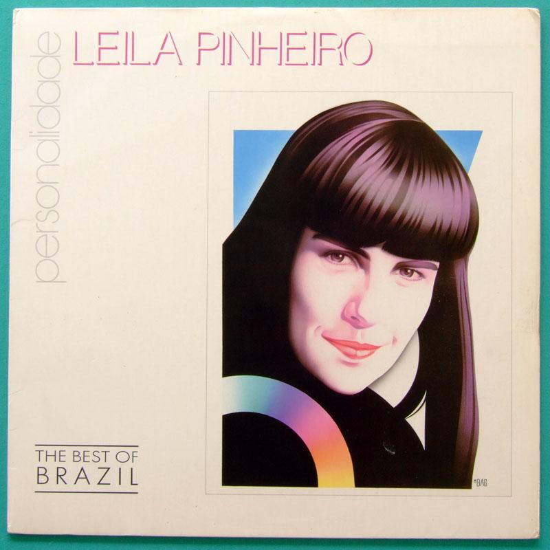 LP LEILA PINHEIRO PERSONALIDADE 1993 BOSSA NOVA FOLK BRAZIL