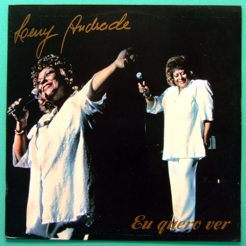 LP LENY ANDRADE EU QUERO VER 1990 BOSSA SAMBA FOLK BRAZIL
