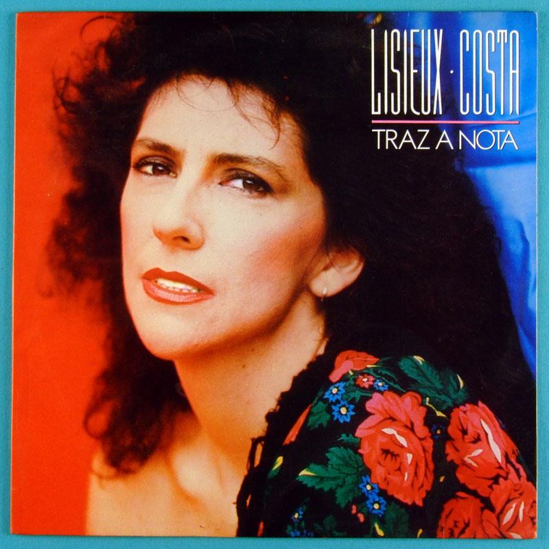 LP LISIEUX COSTA TRAZ A NOTA 1989 BOSSA NOVA FOLK BRAZIL