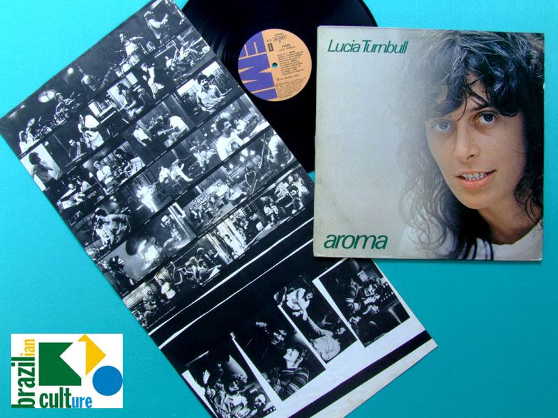 LP LUCIA TURNBULL AROMA 1980 PSYCH ROCK FOLK ROBSON JORGE OBERDAN BRAZIL