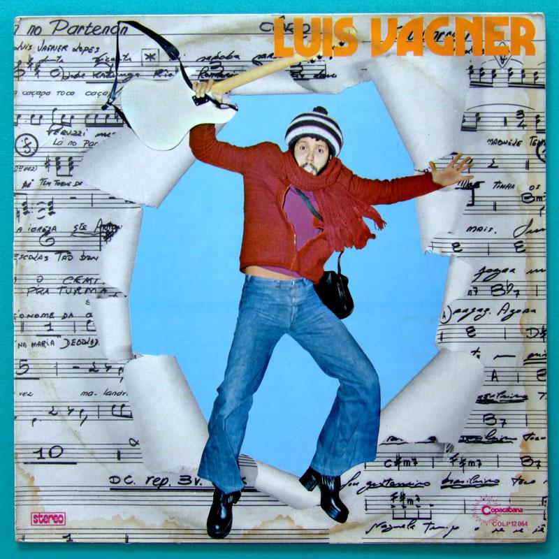 LP LUIS VAGNER 1976 GUITARREIRO FOLK SOFT ROCK SOUL DJ FUNK GROOVE BRAZIL