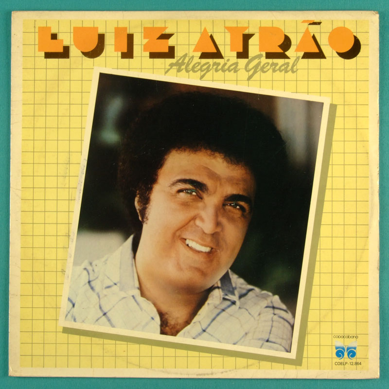 LP LUIZ AYRAO ALEGRIA GERAL 1984 SOFT ROCK SAMBA FOLK BRAZIL