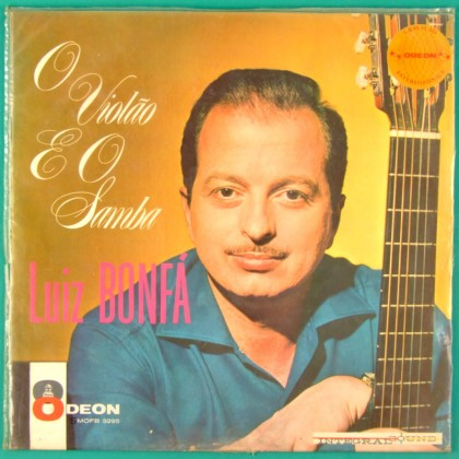 LP LUIZ BONFA O VIOLAO E O SAMBA 1962 STEREO GUITAR BOSSA BRAZIL