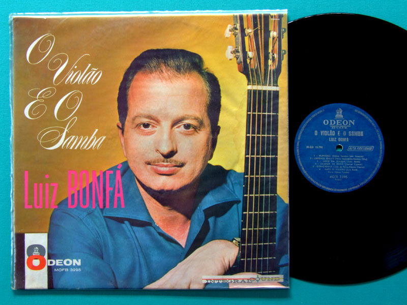 LP LUIZ BONFA O VIOLAO E O SAMBA 1962 MONO GUITAR BOSSA BRAZIL
