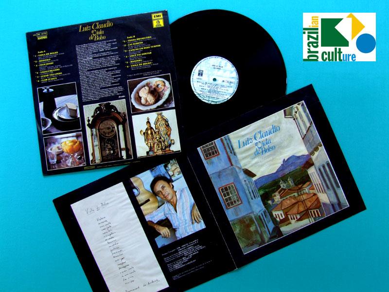 LP LUIZ CLAUDIO VIOLA DE BOLSO 1979 DANILO CAYMMI TAVITO BURNIER BRAZIL