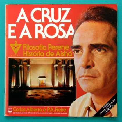 LP LUIZ ECA CRUZ PIANO W/ BOOKLET ROSA AMORC ROSICRUCIAN PRIVATE PRESSING BRAZIL