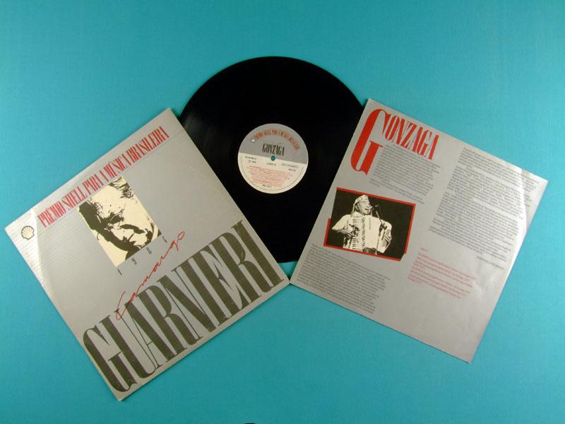 LP LUIZ GONZAGA PREMIO SHELL 1984 FOLK REGIONAL BRAZIL