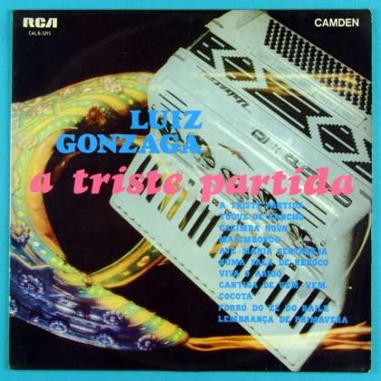 LP LUIZ GONZAGA A TRISTE PARTIDA 1970 BAIAO XOTE BRAZIL