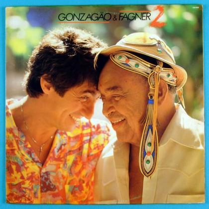 LP LUIZ GONZAGA GONZAGAO E FAGNER 1988 XOTE BAIAO BRASIL