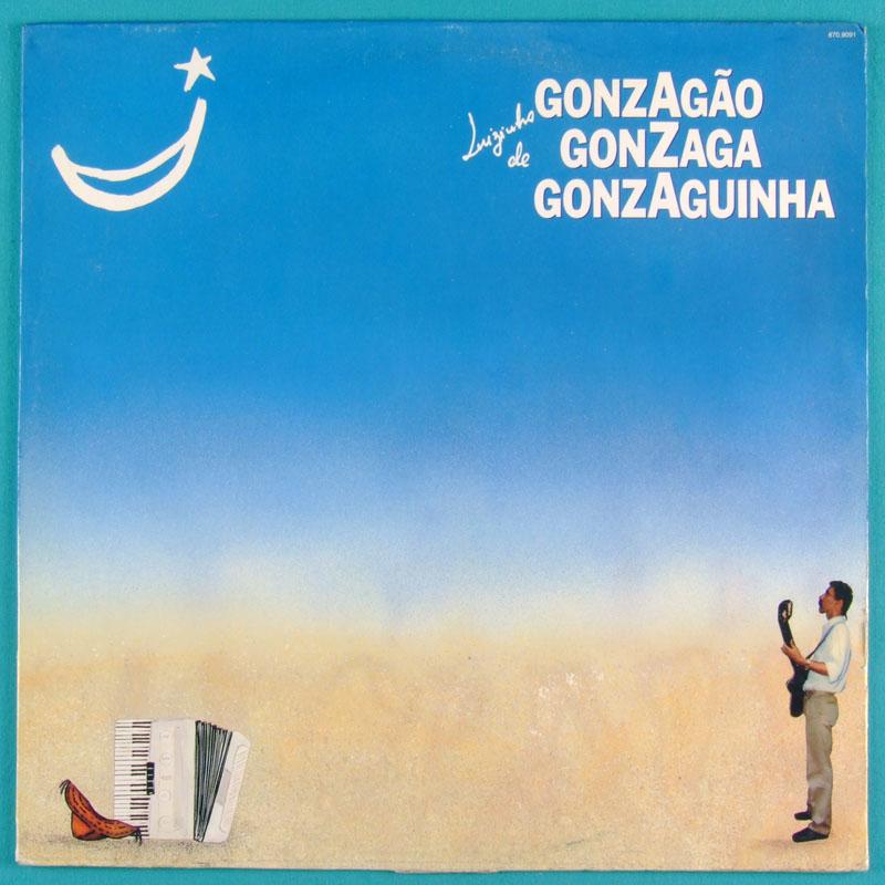 LP LUIZ GONZAGA JR GONZAGAO GONZAGUINHA 1990 BOSSA BRAZIL