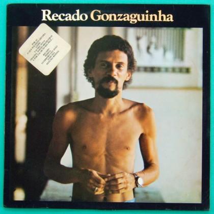 LP LUIZ GONZAGA JR RECADO GONZAGUINHA 1988 BOSSA BRAZIL