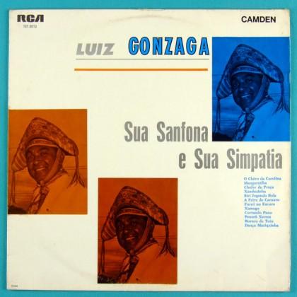 LP LUIZ GONZAGA SUA SANFONA SIMPATICA 1966 FOLK BRAZIL