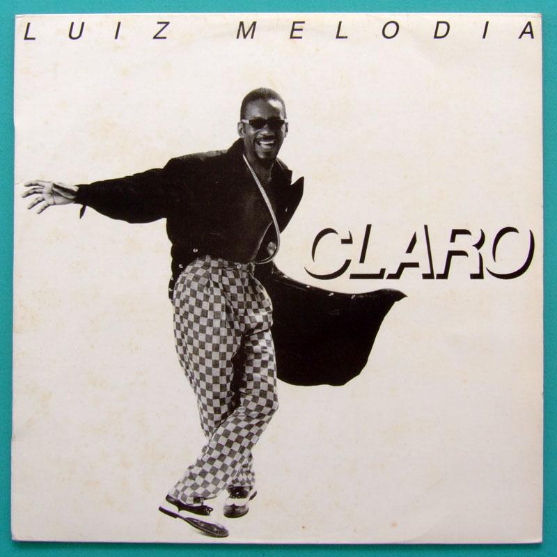 LP LUIZ MELODIA CLARO 1987 SOUL BOSSA FOLK JAZZ SAMBA BRAZIL