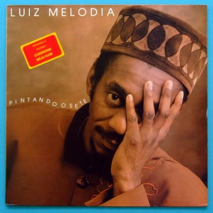 LP LUIZ MELODIA PINTANDO O SETE 1991 BOSSA FOLK BRAZIL