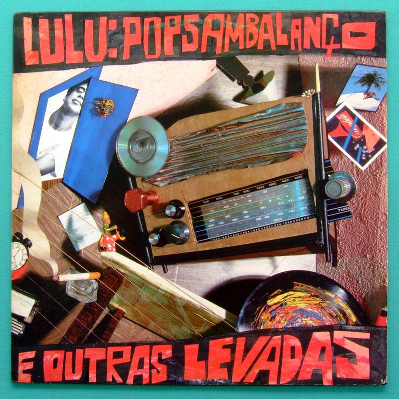 LP LULU SANTOS OUTRAS LEVADAS SOUL GROOVE FUNK BRAZIL