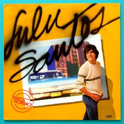 LP LULU SANTOS TEMPOS MODERNOS 1982 PSYCH GROOVE ROCK BRAZIL