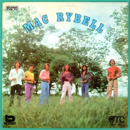 LP MAC RYBELL 1974 OBSCURE FOLK PSYCH ROCK GARAGE BRAZIL