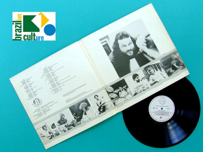 LP MARCOS ARIEL & GRUPO USINA O MALABARISTA 1983 JAZZ BRAZIL
