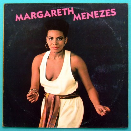LP MARGARETH MENEZES 1988 SAMBA REGIONAL AXE FOLK BRAZIL