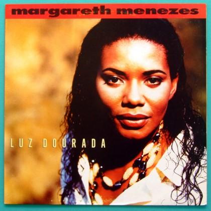 LP MARGARETH MENEZES LUZ DOURADA 1993 SAMBA FOLK BRAZIL