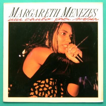 LP MARGARETH MENEZES UM CANTO PRA SUBIR 1990 SAMBA BRAZIL