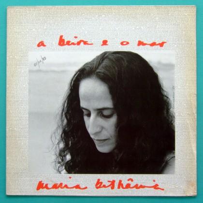 LP MARIA BETHANIA A BEIRA E O MAR 1984 BOSSA SAMBA BRAZIL