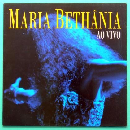 LP MARIA BETHANIA AO VIVO 1995 FOLK BOSSA NOVA SAMBA BRAZIL