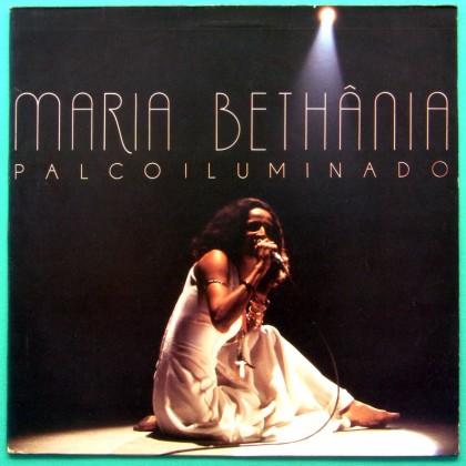 LP MARIA BETHANIA PALCO ILUMINADO 1985 BOSSA SAMBA BRAZIL