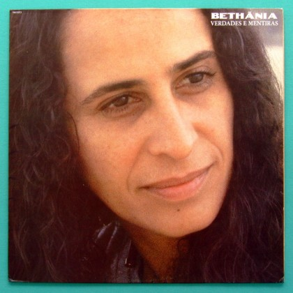 LP MARIA BETHANIA VERDADES MENTIRAS 1989 BOSSA SAMBA FOLK BRAZIL