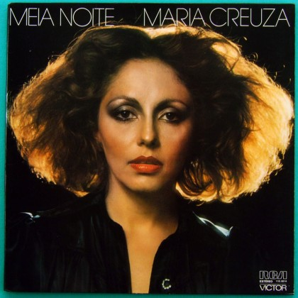 LP MARIA CREUZA MEIA NOITE 1977 FOLK SAMBA CHORO BOSSA BRAZIL